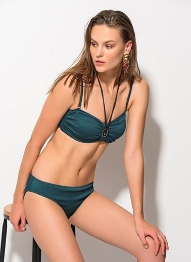Dagi Straplez Bikini Takım Yeşil